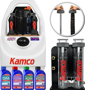 Power flush equipment
